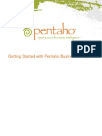 Getting Started With Pentaho