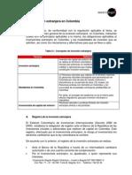 V Inversion Extranjera en Colombia
