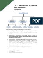 V.  ESTUDIO DE LA ORGANIZACIÓN, DE ASPECTOS LEGALES Y DE IMPACTO AMBIENTAL