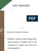 Material Autentico