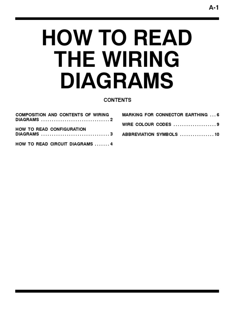 How To Read Wiring Diagram Ew A