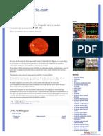 Alertan a satélites por la llegada de elevados niveles de electrones del Sol