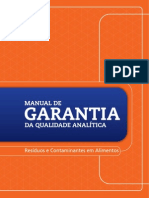 Mapa 2011 Manual de Garantia Da Qualidade Analitica