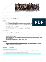EA sports specification and question 3