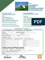 Golf Skills Registration - 23 July-Juillet 09 Eng-Fr