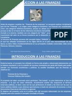 Introduccion a Las Finanzas..