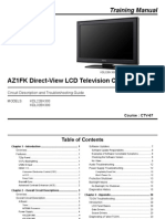 Sony Ctv-67 Az1fk Chassis Training Manual...KDL32BX300...KDL22BX300