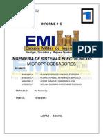 EMI Caratula Informes y Formato de Informes y Proyectos