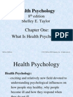 what is health psychology