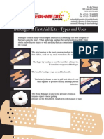 Redi-Medic - Bandages in First Aid Kits - Types and Uses