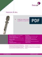 Fives Cail Sonda de Medicion Brix HT02