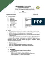 Silabus FQ 2013II - Ing Qca Ambiental