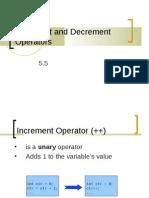 05.1 ES26 Lab - Increment and Decrement Operators