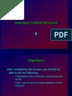 06 ES26 Lab - Selection Control Structure