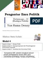 Pertemuan 4-Budaya Politik.pptx