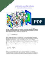 Factor de Turbulencia de Gas y Coeficiente de Flujo No Darciano