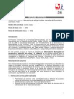 informe ejecutivo Univalle