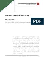 Conceptos Farmacocinéticos en TIVA