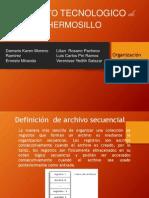 Exposicion Admon y Org de Datos