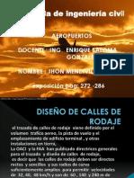 DISEÑO DE CALLES DE RODAJE