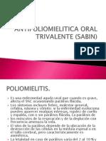 Antipoliomielitica Oral Trivalente (Sabin)