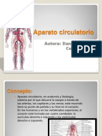 Aparato circulatorio diapositiva