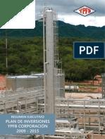 YPFB Plan de Inversiones 2009-2015 Separata