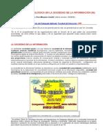 2º texto LA CULTURA TECNOLÓGICA EN LA SOCIEDAD DE LA INFORMACIÓN