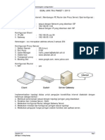 Pembahasan UKK Paket 1 Debian 5