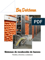 Big Dutchman Gefluegelhaltung Poultry Production Egg Collection Systems Es