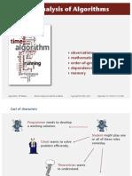 14 Analysis of Algorithms