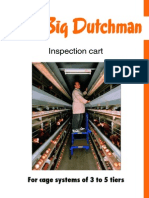Big Dutchman Legehennenhaltung Layer Management Inspection Cart En