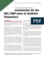 Las Consecuencias de Las Nic-niif Para El Analisis Financiero