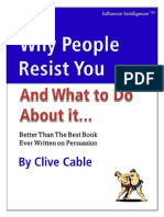 Why People Resist You