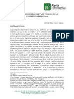 Prescripcion Adquisitiva de Dominio en La Jurisprudencia