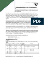2011 Mathematical Methods (CAS) Exam Assessment Report Exam 2