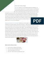 Resep Cara Membuat Es Krim
