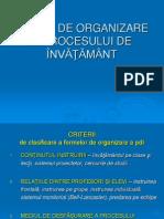 FORME DE ORG A PDI