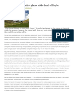 Diary from Alex Blackburne's recent trip to the Faroe Islands (17-20 Sept 2013)