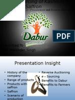 Dabur source of saffron