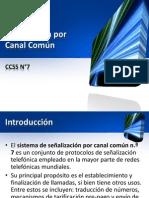 Sistema de Señalización por Canal Común