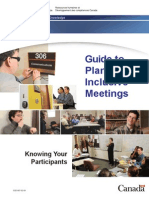 Guide to Plan Inclusive Meetings