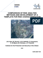 Comparsion of Risk Analysis and Preparing Template