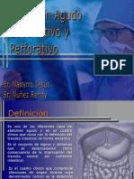 3- Abdomen Agudo Obstructivo y Perforativo