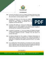 ORDENANZA ZONIFICACIÓN URBANA DE LA CIUDAD DE TENA  2008-06-25