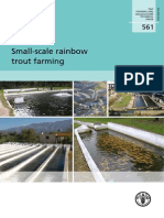 Small Scale Rainbow Trout Farming
