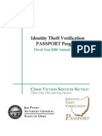 2006 Identity Theft PASSPORT Program Report