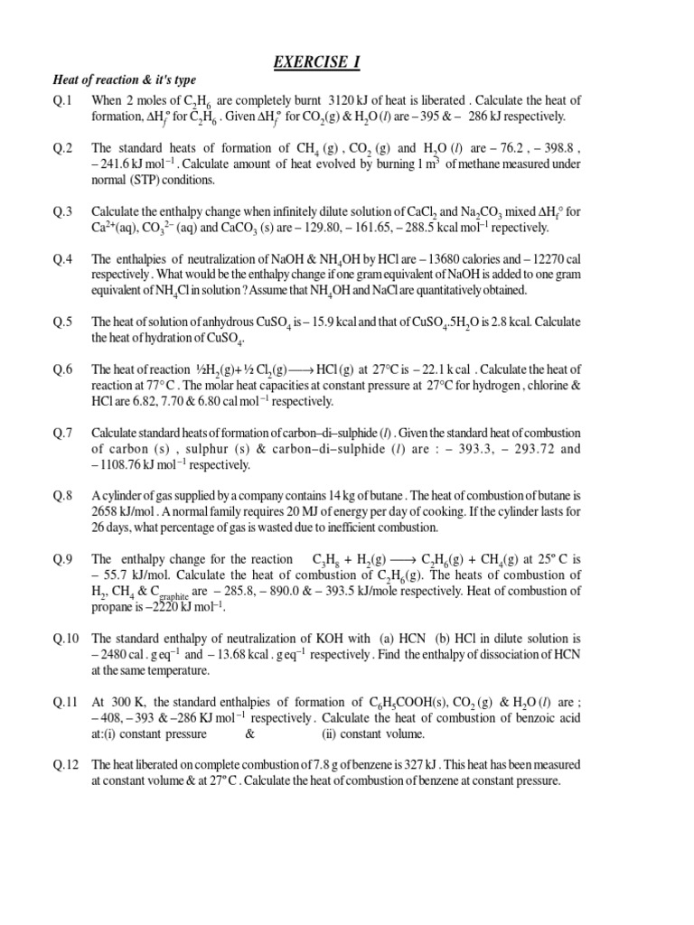 worksheet Mole Ratio Worksheet thermo chemistry combustion hydrogen