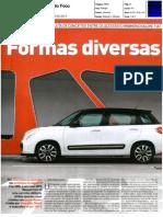 """RENAULT CLIO SPORT TOURER 1.5 dCi FRENTE AO FIAT 500L 1.3 MULTIJET NA """"AUTO FOCO"""""""