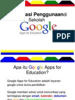 Sosialisasi Google for Education.ppt